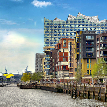 HafenCity. Hamburg. Germany | NIKON 18-105MM F/3.5-5.6G ED-IF AF-S VR DX