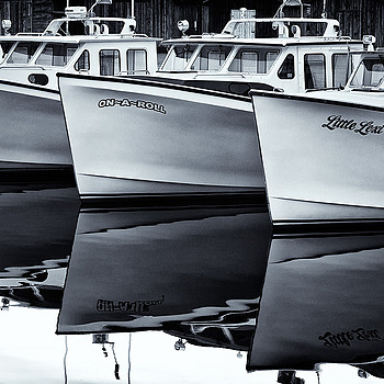 Three Fishing Boats | LENS MODEL NOT SET <br> Click image for more details, Click <b>X</b> on top right of image to close