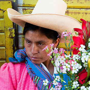 Flowergirl, Peru | TAMROM SP 17-50MM F/2.8 DI II <br> Click image for more details, Click <b>X</b> on top right of image to close