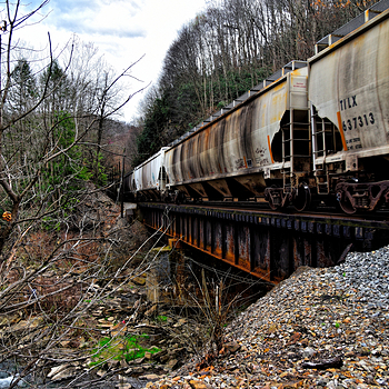 Train In Big Four, WV | NIKON 24-120MM F/4G ED VR <br> Click image for more details, Click <b>X</b> on top right of image to close