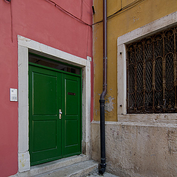 doors in rovinj | NIKON 12-24MM F/4G ED-IF AF-S DX <br> Click image for more details, Click <b>X</b> on top right of image to close