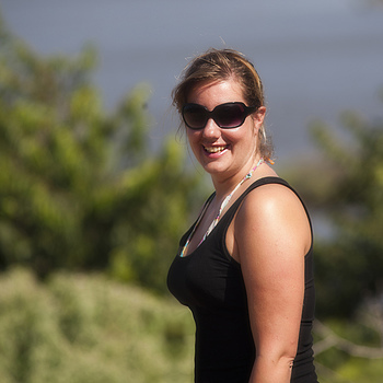 kim at bonaire | NIKON 300MM F/4 ED-IF AF <br> Click image for more details, Click <b>X</b> on top right of image to close