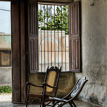 Chairs in an old house in Ciénaga, Magdalena. | LENS MODEL NOT SET <br> Click image for more details, Click <b>X</b> on top right of image to close