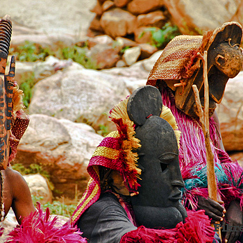 Dogon Mask Dance of Mali | NIKON 80-400MM F/4.5-5.6D ED AF VR <br> Click image for more details, Click <b>X</b> on top right of image to close