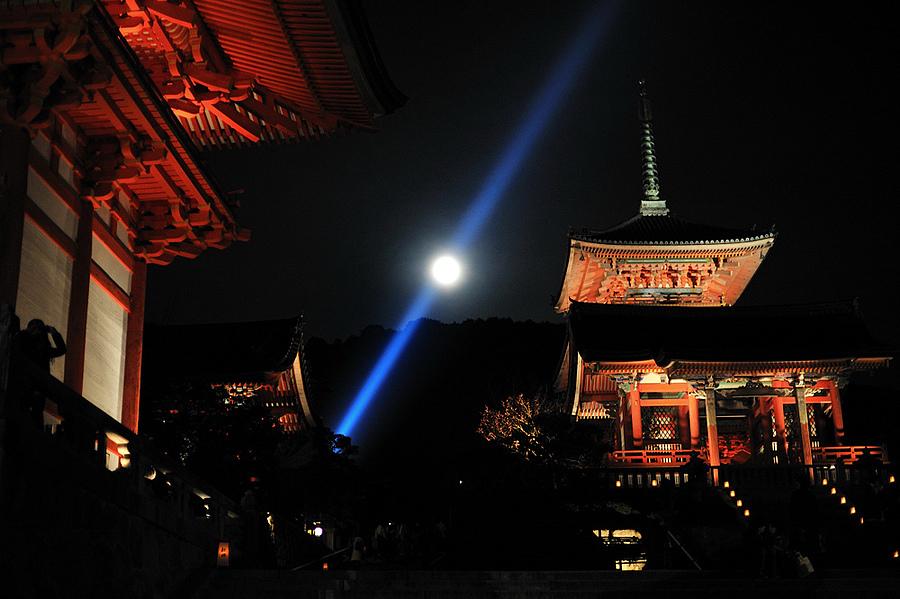 kyoto supermoon | NIKON 50MM F/1.4D AF <br> Click image for more details, Click <b>X</b> on top right of image to close