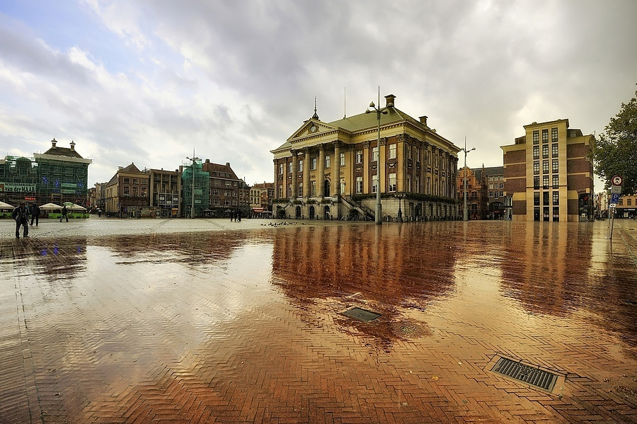 RAIN IN THE CITY/GRONINGEN | NIKON 16-35MM F/4G ED AF-S VR <br> Click image for more details, Click <b>X</b> on top right of image to close