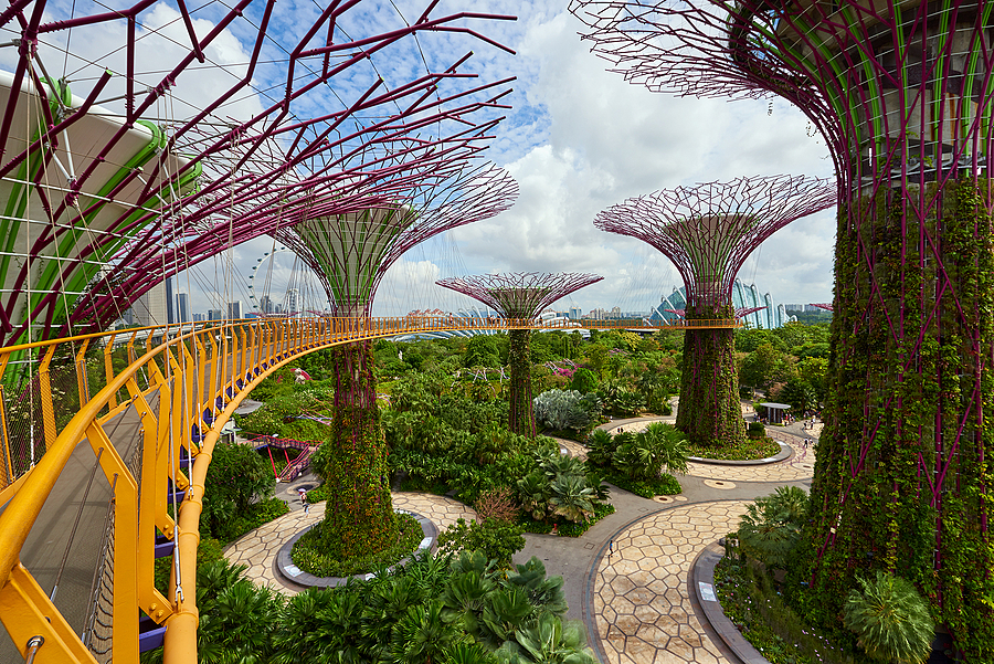 Gardens by the Bay, Singapore. | TAMRON SP 15-30MM F/2.8 DI VC USD <br> Click image for more details, Click <b>X</b> on top right of image to close