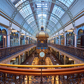 Queen Victoria Building, Christmas. | TAMRON SP 15-30MM F/2.8 DI VC USD <br> Click image for more details, Click <b>X</b> on top right of image to close