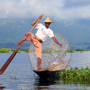 Inle Lake Fisherman 1 | NIKON AF-S 80-400MM VRII