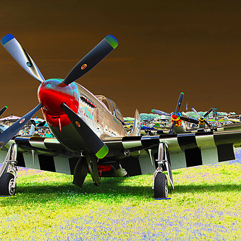 P-51s | NIKON 18-55MM F/3.5-5.6G ED AF-S II DX <br> Click image for more details, Click <b>X</b> on top right of image to close