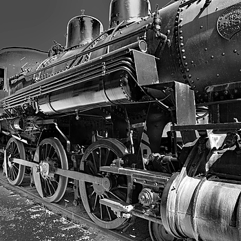 Engine 2645 BW | NIKON 18-35MM 3.5-4.5G <br> Click image for more details, Click <b>X</b> on top right of image to close