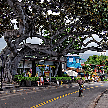 Kona Streetscape 2 | TAMRON AF 28-300MM F3.5-6.3 XR <br> Click image for more details, Click <b>X</b> on top right of image to close