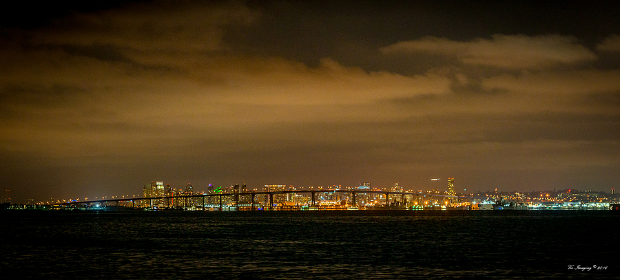 Coronado Bridge and San Diego, CA | NIKON 70-200MM F/2.8G ED AF-S VR II <br> Click image for more details, Click <b>X</b> on top right of image to close
