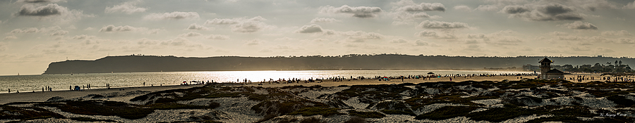 Point Loma, Coronado Beach Panorama | NIKON 70-200MM F/2.8G ED AF-S VR II <br> Click image for more details, Click <b>X</b> on top right of image to close