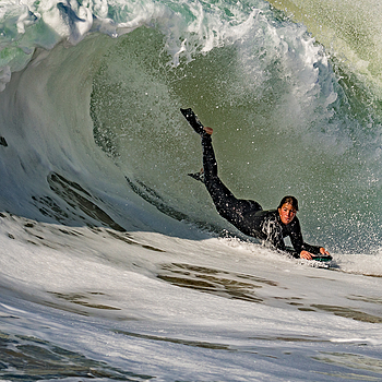 Boogie Boarder at the Wedge - Tamron G2 + D500 | LENS MODEL NOT SET <br> Click image for more details, Click <b>X</b> on top right of image to close