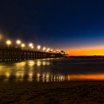 HB Pier Sunset | NIKON 14-24MM F/2.8G ED AF-S N <br> Click image for more details, Click <b>X</b> on top right of image to close
