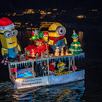 Newport Parade of Lights 2016