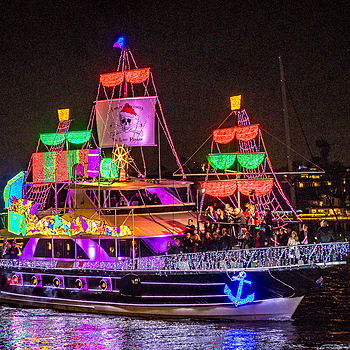 Newport Parade of Lights 2016 | LENS MODEL NOT SET