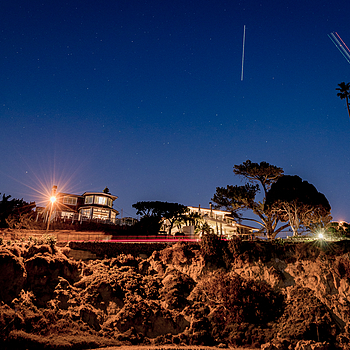 ISS Flyby Laguna Beach | NIKON 14-24MM F/2.8G ED AF-S N <br> Click image for more details, Click <b>X</b> on top right of image to close