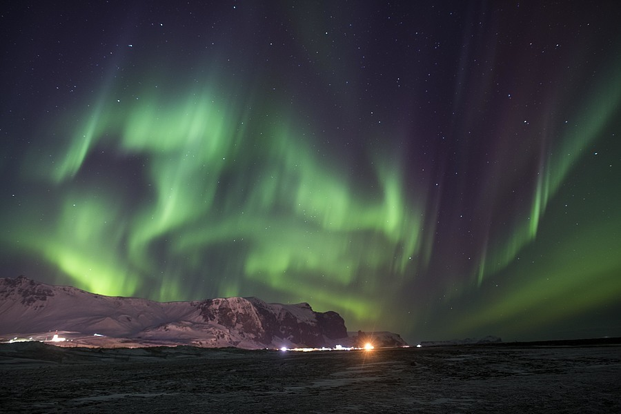 Aurora Vik, Iceland | AF-S NIKKOR 24MM F/1.4G ED <br> Click image for more details, Click <b>X</b> on top right of image to close
