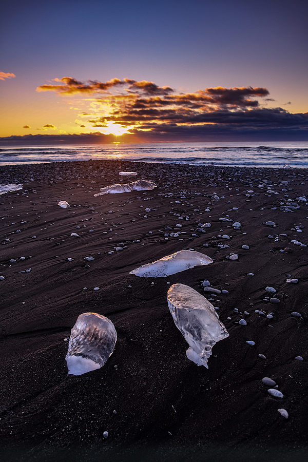 Diamond Beach Iceland | AF-S NIKKOR 24MM F/1.4G ED <br> Click image for more details, Click <b>X</b> on top right of image to close