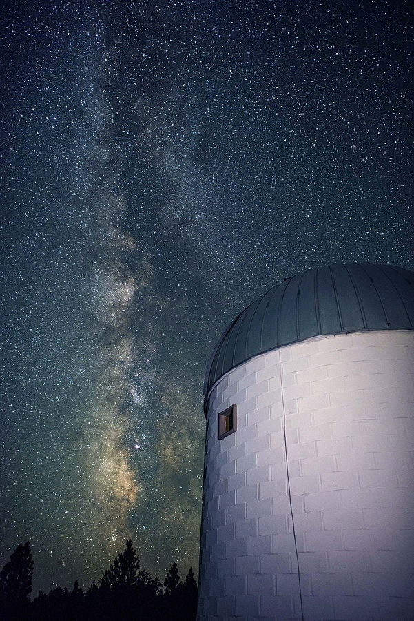 32inch telescope and Milky Way | NIKON 24MM F/1.4G ED AF-S <br> Click image for more details, Click <b>X</b> on top right of image to close