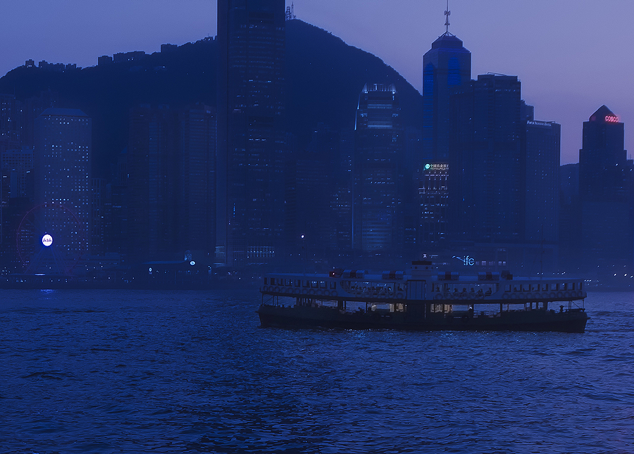 Hong Kong blue hour | ZEISS ZF-II DISTAGON T* F1.4 35MM <br> Click image for more details, Click <b>X</b> on top right of image to close