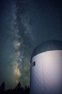 32inch telescope and Milky Way