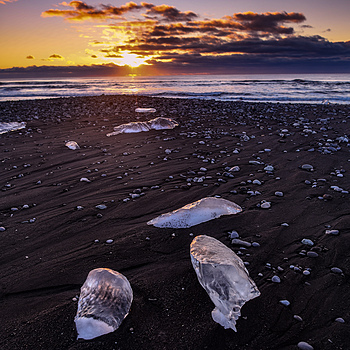 Diamond Beach Iceland | AF-S NIKKOR 24MM F/1.4G ED