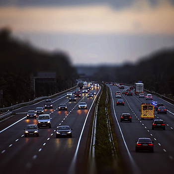 Twilight on the A3 | NIKON 28-300MM F/3.5-5.6G ED VR <br> Click image for more details, Click <b>X</b> on top right of image to close