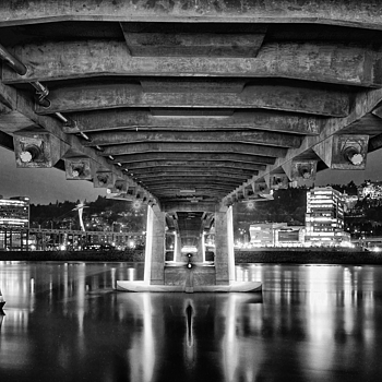 Under the bridge | NIKON 16-35MM F/4G ED AF-S VR