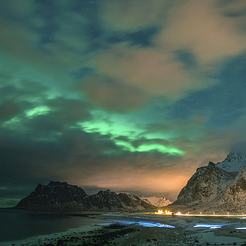 Lofoten Islands borealis | NIKON 16-35MM F/4G ED AF-S VR