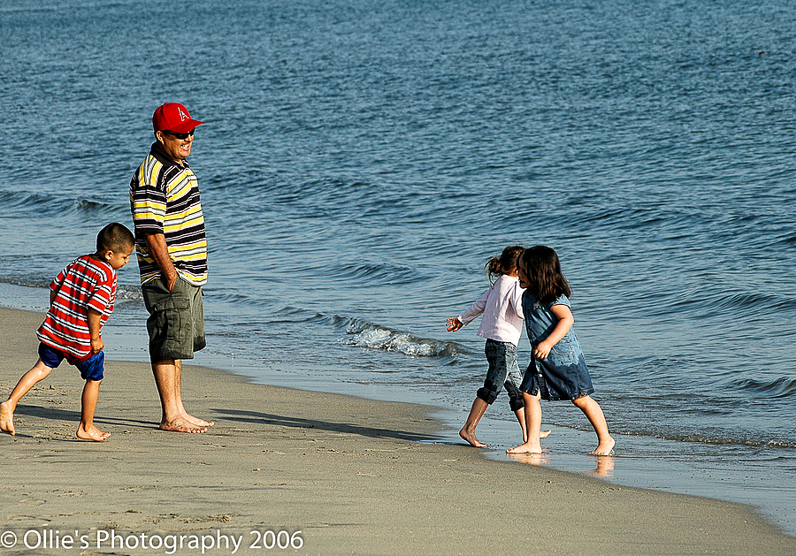 Enjoying The Beach With Family | NIKON 18-55MM F/3.5-5.6G AF-S VR DX <br> Click image for more details, Click <b>X</b> on top right of image to close