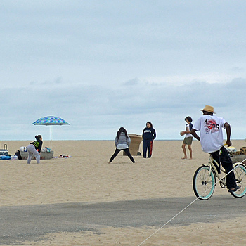 Enjoying The Beach On A Bike | NIKON 18-55MM F/3.5-5.6G AF-S VR DX <br> Click image for more details, Click <b>X</b> on top right of image to close