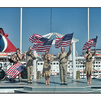 Memorial Day On The Queen Mary  Hotel Ship | NIKON 18-55MM F/3.5-5.6G AF-S VR DX <br> Click image for more details, Click <b>X</b> on top right of image to close