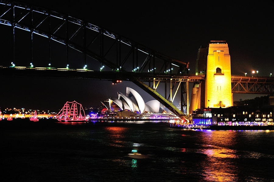 New Years at Sydney Bridge | NIKON 24-120MM F/3.5-5.6G AF-S VR <br> Click image for more details, Click <b>X</b> on top right of image to close