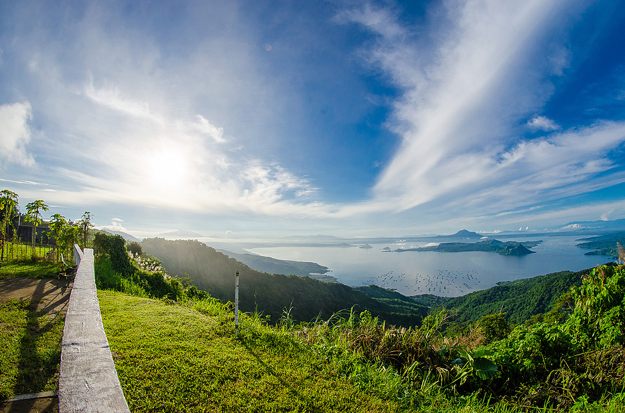 Beautiful Taal Lake in the Philippines | SAMYANG 8MM F/3.5 FISHEYE <br> Click image for more details, Click <b>X</b> on top right of image to close