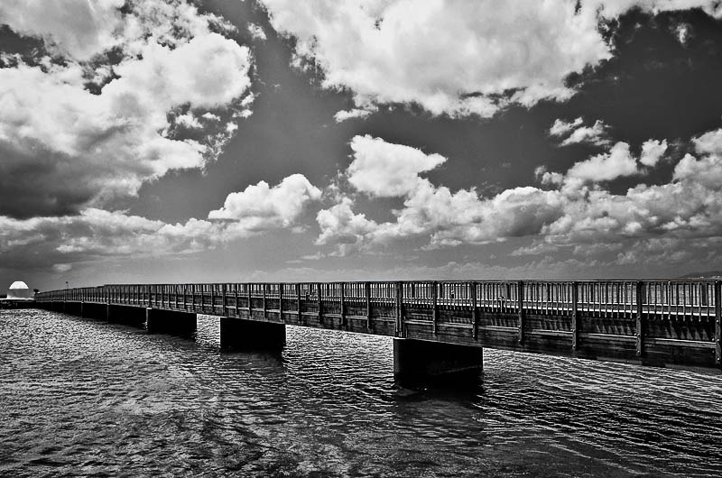 Ocean under the bridge... | LENS MODEL NOT SET <br> Click image for more details, Click <b>X</b> on top right of image to close