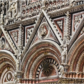 Siena cathedral - details | LENS MODEL NOT SET <br> Click image for more details, Click <b>X</b> on top right of image to close