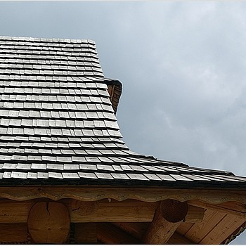 roof covered with wooden shingles | LENS MODEL NOT SET <br> Click image for more details, Click <b>X</b> on top right of image to close