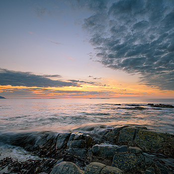 Sunset at Flø-Norway | NIKON 14-24MM F/2.8G ED AF-S N