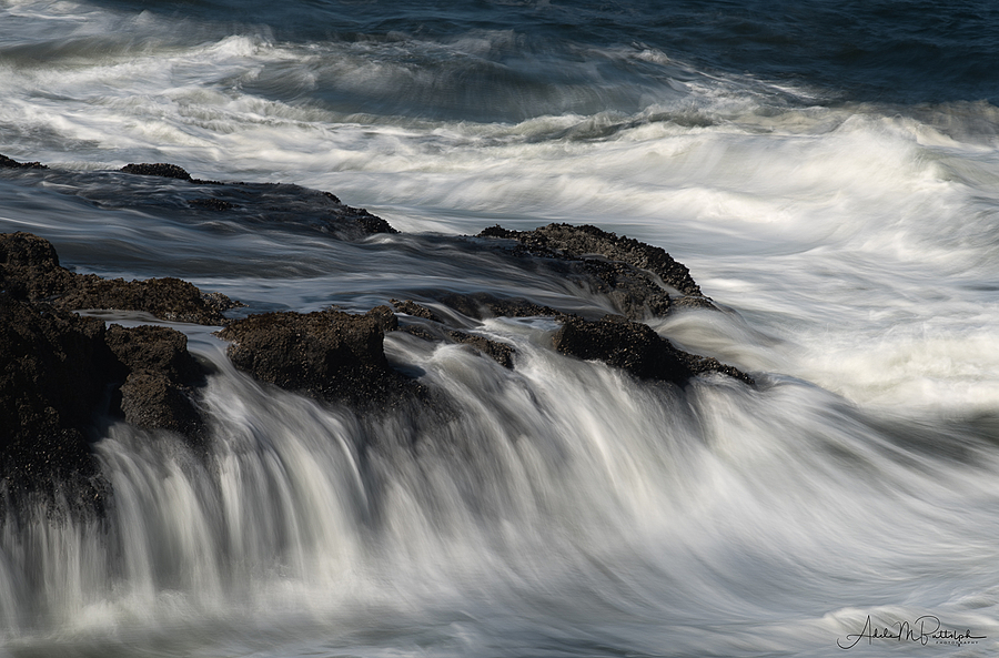 Cape Perpetua, Oregon | NIKON 300MM F/4D ED-IF AF-S <br> Click image for more details, Click <b>X</b> on top right of image to close