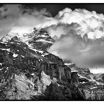 Storm arriving at the Jungfrau, Switzerland | NIKON 18-135MM F/3.5-5.6G ED-IF AF-S DX <br> Click image for more details, Click <b>X</b> on top right of image to close