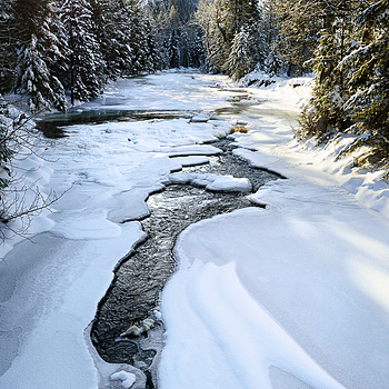 Winter on Lostine River, Oregon | ZEISS ZF-II DISTAGON T* F2 28MM <br> Click image for more details, Click <b>X</b> on top right of image to close