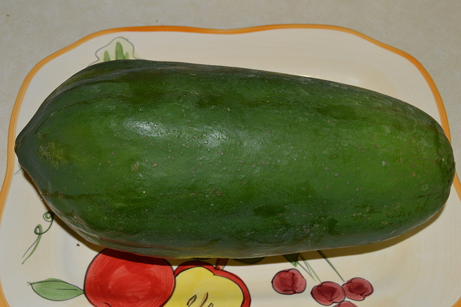 4 Lb. Papaya ( Home Grown ) | NIKON 18-55MM F/3.5-5.6G ED AF-S DX <br> Click image for more details, Click <b>X</b> on top right of image to close