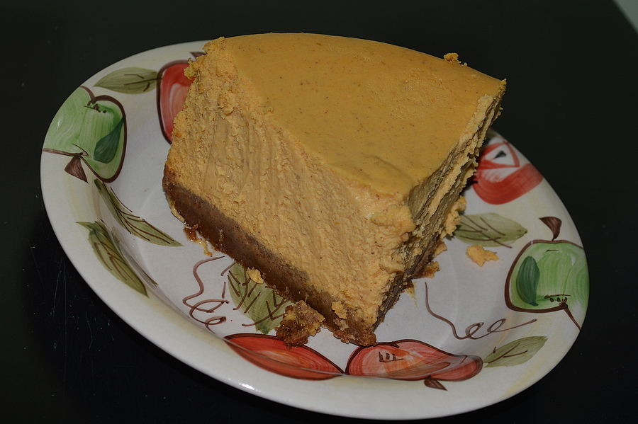 Pumpkin Cheese Cake | NIKON 18-55MM F/3.5-5.6G ED AF-S DX <br> Click image for more details, Click <b>X</b> on top right of image to close