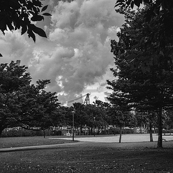 Storm over the playground | NIKON 50MM F/1.4 <br> Click image for more details, Click <b>X</b> on top right of image to close