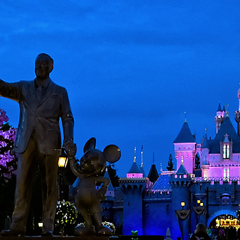 Walt Disney and Friend | NIKON 28MM F/1.4D AF ASPHERICAL <br> Click image for more details, Click <b>X</b> on top right of image to close