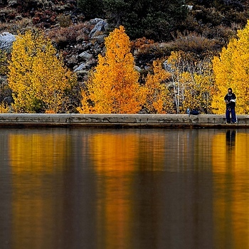 Autumn Trout Fishing in Easter Sierra Nevada Mountains | NIKON 500MM F/4G ED-IF AF-S VR N