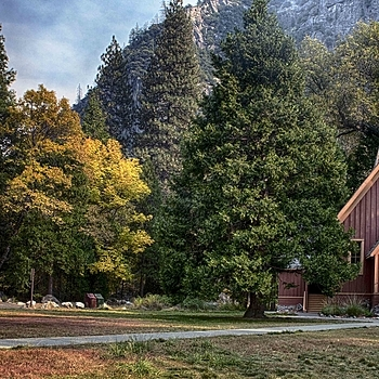 Chapel in Yosemite Valley, CA | NIKON 24-70MM F/2.8G ED AF-S N <br> Click image for more details, Click <b>X</b> on top right of image to close